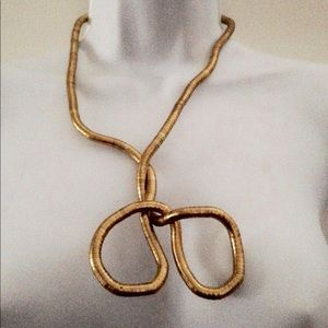 """Jewelry - NEW Snake Necklace Gold 16"""" 32"""""""